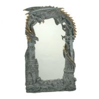 Dragon and Castle Mirror